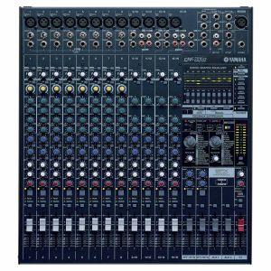 YAMAHA EMX5016CF | เพาเวอร์มิกเซอร์ 16 input 1,000 วัตต์ 500 W. x 2, 4 ohms, Digital GEQ ,16 SPX Digital Effect x 2, Mixer