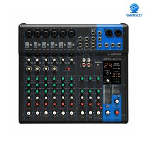 YAMAHA MG12XUK 12-Channel Mixing Console: Max. 6 Mic / 12 Line Inputs (6 mono + 3 stereo) / 1 Stereo Bus / 1 AUX (incl. FX)