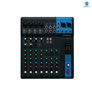 YAMAHA MG10 มิกเซอร์ 10-Channel Mixing Console 4 Microphone Preamps, 3 Dedicated Stereo Line Channels, 1 Aux Send