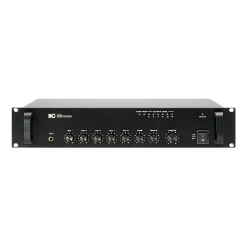 ITC Audio T-240 เพาเวอร์มิกเซอร์ 240 วัตต์ 3 mic, 2 aux, 100V/70V and 4-16ohms