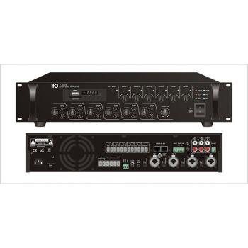 ITC Audio TI-1206S เพาเวอร์มิกเซอร์ 120 วัตต์ พร้อมช่องเสียบ MP3