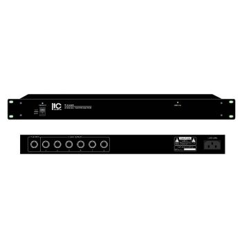 ITC Audio T-6208 Signal Distributor, 1 input, 6 Channel output