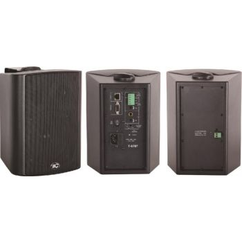 ITC Audio T-6707 ลำโพงติดผนังพร้อมเครื่องขยายเสียงและเครื่องรับสัญญาณ IP Network