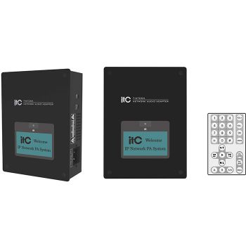 ITC Audio T-6705A เครื่องส่งเสียงผ่าน IP Network Audio Adapter