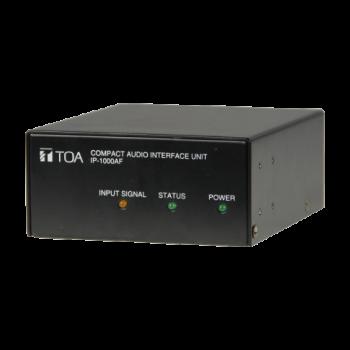 TOA IP-1000AF ระบบประกาศผ่านเน็ตเวิร์ค Compact Audio Interface Unit