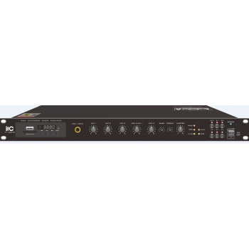 ITC Audio TI-120DTB เพาเวอร์มิกเซอร์ 120 วัตต์ พร้อม MP3 / Tuner / Bluetooth & USB
