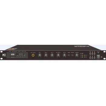 ITC Audio TI-350DTB เพาเวอร์มิกเซอร์ 350 วัตต์ พร้อม MP3 / Tuner / Bluetooth & USB