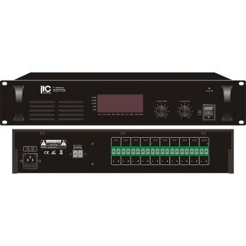 ITC Audio T-6204 เครื่องตรวจสอบสัญญาณเสียงแบบ 10 ช่องสัญญาณ