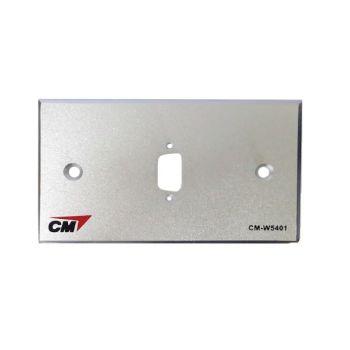 CM CM-W5401 Inlet / Outlet Plate with VGA 1 Port  แผ่นเปล่าสำหรับ VGA 1 ช่อง