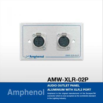 Amphenol AMW-XLR-02P