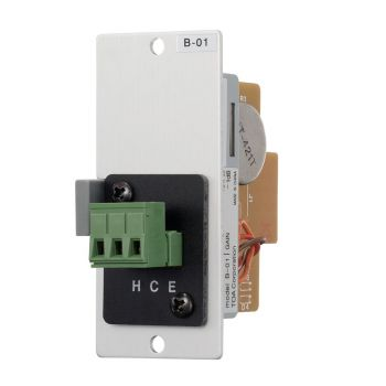 TOA B-01S Line Level Terminal Block Input Module for 900 Series Amplifiers