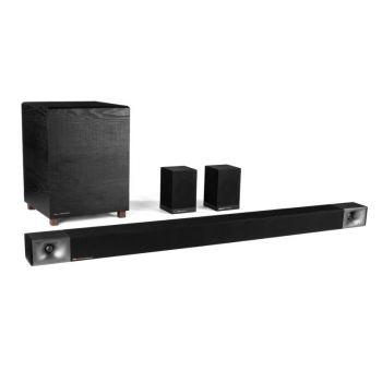 Klipsch Bar 48 + Surround 3 ลำโพงซาวด์บาร์ พร้อมซับวูฟเฟอร์ไร้สาย ให้ระบบเสียง 5.1