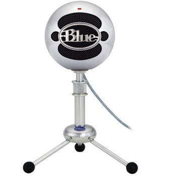 Blue Snowball (Brushed Aluminum) ไมโครโฟน USB