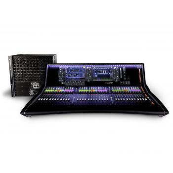 dLIVE S7000+DM64 Pack มิกเซอร์ดิจิตอล Dual 12″ Touchscreens, 36 Faders, 26 SoftKeys, 6 Rotary Controls, 8 XLR InputsOutputs, 2 AES Inputs, 3 AES Outputs