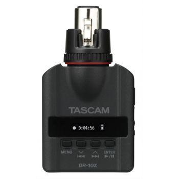 TASCAM DR-10X เครื่องอัดเสียง แบบดิจิตอล Plug-On Micro Linear PCM Recorder (XLR)