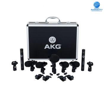 AKG Drum Set Session   ชุดไมโครโฟนสำหรับอัดกลองชุด แบบครบเซ็ต