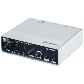 STEINBERG UR12 1 x 2 I/O USB 2.0 audio interface with 1 XLR, 1 TS and 24/192 kHz