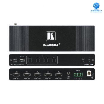 KRAMER VS-411X | เครื่องสลับภาพ 4x1 4K HDR HDMI Auto Switcher