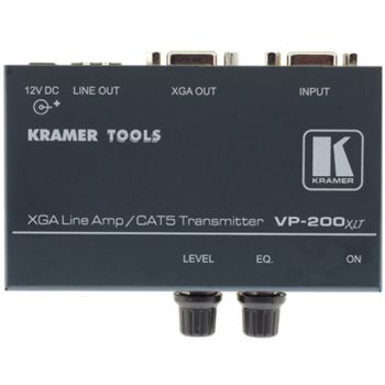 KRAMER VP-200XLT 1:1 Computer Graphics Video Line Amplifier with Twisted Pair Transmitter