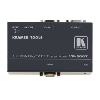 KRAMER VP-300T 1:2 Computer Graphics Video Distribution Amplifier with Twisted Pair Transmitter