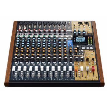 TASCAM Model 16 14-Channel Analogue Mixer With 16-Track Digital Recorder