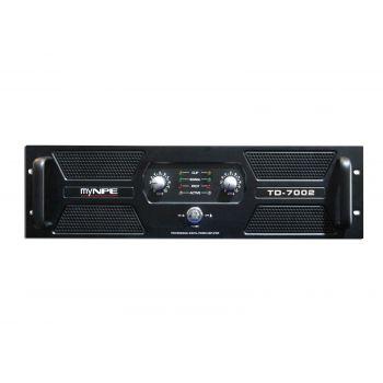 myNPE TD-7002 Power Amp 2x1300W CLASS : TD