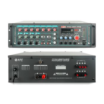 NPE PMD-350MP3 POWER MIXER 350Wmax @ 4-16 OHM