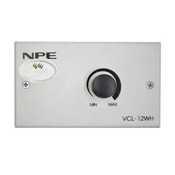 NPE VCL-12WH วอลลุ่มแบบมีลายแม็ทซ์ซิ่ง 12W Volume Control Line