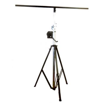 Nightsun LIGHTING STAND T-BAR 1.7  ขาตั้งไฟพาร์ ขาตั้งไฟแบบตัวที 1 ชั้น ปรับได้สูง1.7-4.3 เมตร