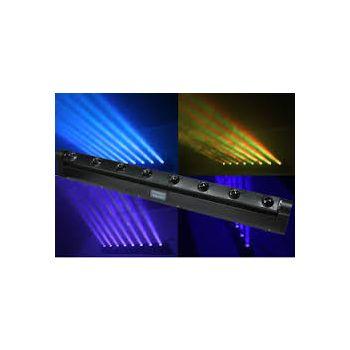 Nightsun Moving Bar-8 Beam 8 x 10 W white led or RGB Color