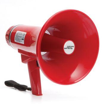 JEC JE-303SW  โทรโข่งแบบมือถือกำลัง 10 วัตต์ Megaphone 10W MIC, น้ำหนักเบาพกพาง่าย