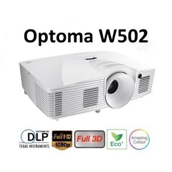 Optoma W502 โปรเจคเตอร์ 5,000 ANSI Lumens