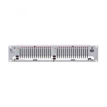 PEAVEY QF215 | อีควอไลเซอร์ 2-แชนแนล,15-แบนด์ ตอบสนองความถี่ 25 Hz to 16 kHz effective equalization range