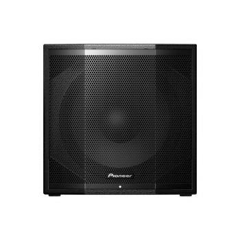 Pioneer XPRS115S ตู้ลำโพงซับวูฟเฟอร์ พร้อมขยายเสียง 2,400 วัตต์ 15 นิ้ว