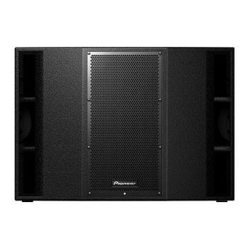 Pioneer XPRS215S ตู้ลำโพงซับวูฟเฟอร์ พร้อมขยายเสียง 2,400 วัตต์ 2X15 นิ้ว