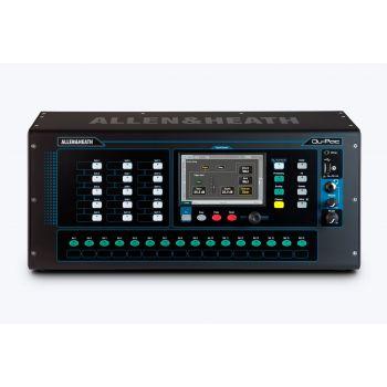 ALLEN & HEATH QU-Pac Compact Mountable Mixer ดิจิตอลมิกเซอร์ขนาดเล็กแบบเข้าแร็ค  5″ Touchscreen 16 Mic/Line Inputs