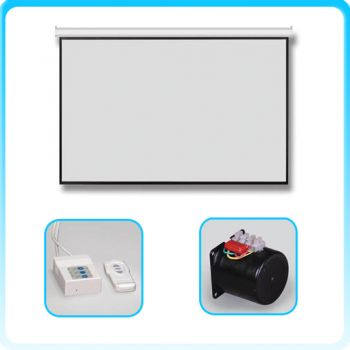 RAZR AHW-H84 Motorized Screen 84 นิ้ว เนื้อ HW สัดส่วน 16:9