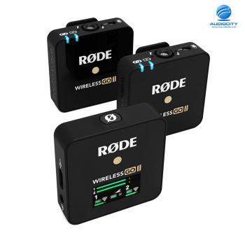 RODE Wireless GO II ชุดไมค์ไร้สายติดกล้องแบบไมค์คู่ 2 ตัว ไมค์ติดกล้องไร้สายแบบไมค์คู่ Wireless System