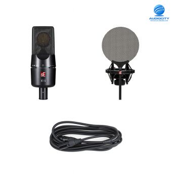 SE Electronics sE X1 S Vocal Pack ชุดไมค์บันทึกเสียง พร้อม Isolation Pack และ mic cable