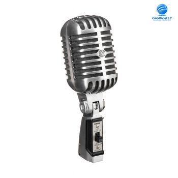 Shure 55SH Series II ไมโครโฟนย้อนยุคแบบคลาสสิค เป็นไมค์แบบ Cardioid Dynamic Microphone