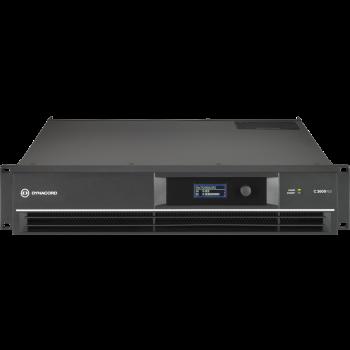 Electro-Voice L3600FD-EU  เครื่องขยายเสียง DSP 2 x 1800 W Power Amplifier for live performance applications