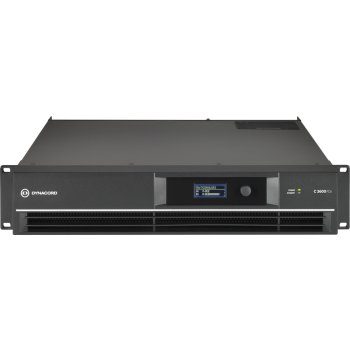 Electro-Voice L1300FD-EU  เครื่องขยายเสียง DSP 2 x 1,000 W Power Amplifier for live performance applications