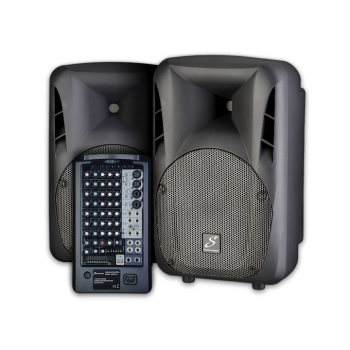 Studiomaster  LIVESYS10 portable PA system with digital wireless microphone