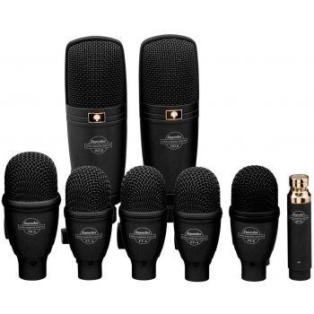 SUPERLUX DRK-F5H3 Drum Microphone Set ชุดไมค์ดนตรี 8 ชิ้น