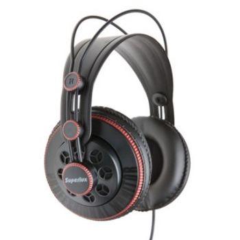 SUPERLUX HD-681R หูฟัง Studio มอนิเตอร์แบบกึ่งเปิด สีแดง