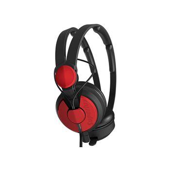 SUPERLUX HD562R หูฟังมอนิเตอร์แบบครอบศีรษะแบบปิด สีแดง