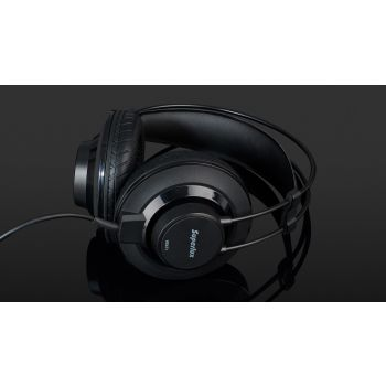 SUPERLUX HD671B หูฟังมอนิเตอร์แบบครอบศีรษะแบบกึ่งปิด สีดำ
