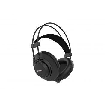 SUPERLUX HD672B หูฟังมอนิเตอร์แบบครอบศีรษะแบบกึ่งปิด สีดำ