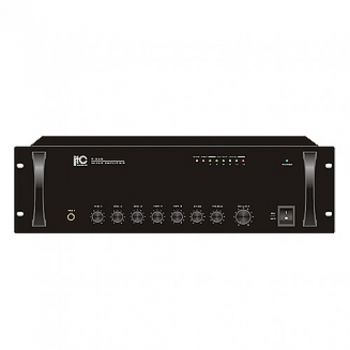 ITC Audio T-550 เพาเวอร์มิกเซอร์ 500 วัตต์ 3 mic, 2 aux, 100V/70V and 4-16ohms