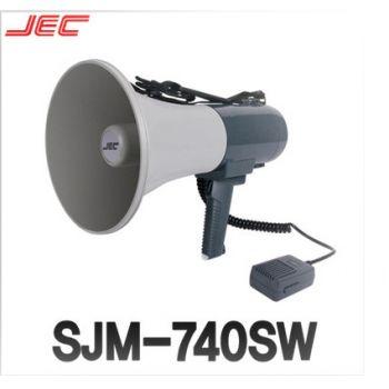 JEC SJM-740SW โทรโข่ง เม็กกาโฟน Megaphone 35W MIC, SIREN & WHISTLE